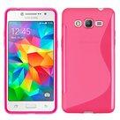 Roze S-line TPU hoesje voor Samsung Galaxy J2 Prime