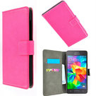 Roze Bookcase wallet hoesje voor Samsung Galaxy Grand Prime Plus