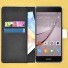 Wallet-bookcase-effen-wit-hoesje-voor-Huawei-Nova-2