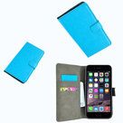 Wallet-bookcase-turquoise-premium-hoesje-voor-iPhone-8-Plus