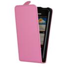 Samsung-i9100-Galaxy-S2--Lederlook-Flip-case-cover-hoesje-Pink
