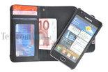 Samsung,galaxy,s2,book,style,wallet,case,zwart