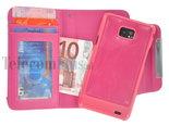 Samsung,galaxy,s2,book,style,wallet,case,roze