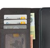 Pearlycase Antiek Donker Bruin Echt lederen 2in1 back en book case ID type hoesje met magnetisch uitneembaar leren behuizing en sluiting voor Apple iPhone 7/8_9