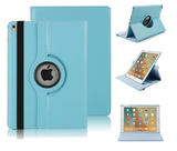 iPad Air 2019 (10,5) hoes Pearlycase.. Kunstleder Hoesje 360° Draaibare Book Case Bescherm Cover Hoes Turquoise + Screenprotector Tempered Glass_9