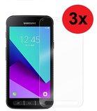 Samsung Galaxy Xcover 4 / 4s Screenprotector 3x Pearlycase Beschermglas Tempered Gehard Glas 2.5D 9H (3 stuks)_9