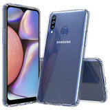 Samsung Galaxy A20s hoes TPU Siliconen Case Cover Transparant Hoesje Pearlycase_9