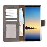 Pearlycase® Wallet Book Case Samsung Galaxy Note 8 Echt Leer Bruin Hoesje met Pashouders