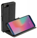Zwart-Bookstyle-Y-Wallet-Case-Hoesje-voor-Huawei-Honor-View-10