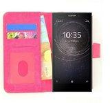 Wallet Bookcase Hoesje voor Sony Xperia L2 - Fashion Roze_9