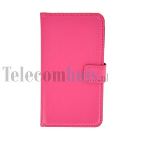 Samsung-galaxy-s7580-book-style-wallet-case-roze