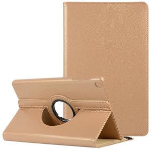 Pearlycase Hoesje 360° Draaibare Case Beschermhoes Licht Roze voor Samsung Galaxy Tab A 10.1 2019 (T510-T515)