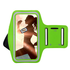 Huawei Mate 30 Pro hoes Sportarmband Hardloopband hoesje Groen Pearlycase