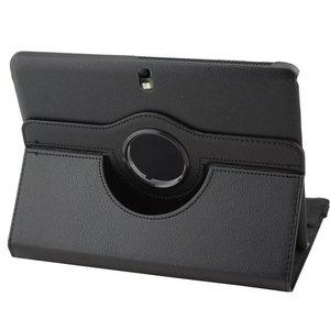 Samsung,galaxy,tab,4,10.1,hoesje,360,draaibare,case,zwart