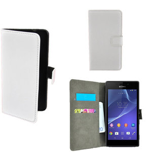 Sony xperia T3 book style wallet case wit