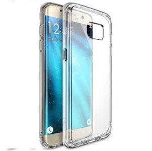 Samsung,galaxy,S7,Edge,smartphone,hoesje,silicone,case,transparant