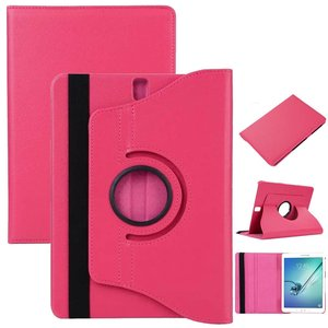 Roze-360°-draaibare-tablethoes-voor-Samsung-Galaxy-Tab-S3-9.7-(t820/t825)