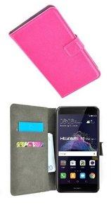 Huawei-P8-Lite-2017-Hoesje-P-Wallet-Bookcase-Roze
