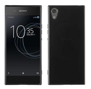 Sony-Xperia-XA1-Zwart-TPU-siliconen-case-hoesje
