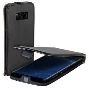 Flipcase-hoesje-voor-Samsung-Galaxy-S8-Plus-Eco-Zwart