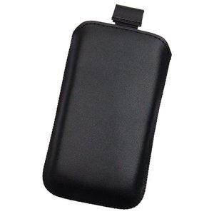Pouch-cover-echt-leer-zwart-insteekhoesje-voor-Motorola-Moto-G5S-Plus
