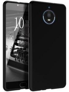 Zwart-siliconen-tpu-case-hoesje-voor-Motorola-Moto-E4-Plus