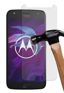 Tempered-glass-/-Screenprotector-van-echt-glass-voor-Motorola-Moto-X4