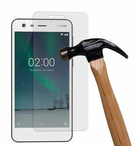 Tempered-glass-/-Screenprotector-van-echt-glass-voor-Nokia-2
