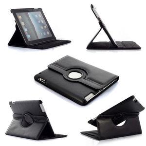 Apple iPad 2 / 3 / 4 - 360° draaibare case, cover - Zwart