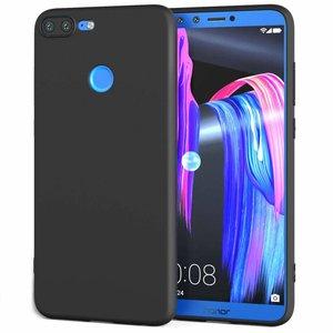 Zwart-TPU-Siliconen-Backcover-Hoesje-voor-Huawei-Honor-9-Lite