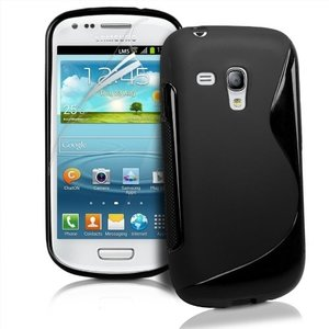 Samsung S7562 Galaxy S Duos - TPU Silicone S Hoes/Case - Zwart