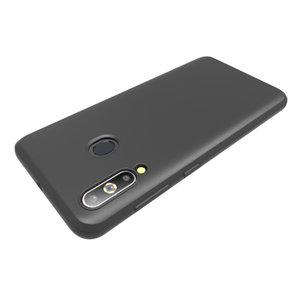 Pearlycase Zwart TPU Siliconen case hoesje voor Samsung Galaxy A60
