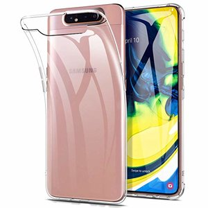 Pearlycase Transparant TPU Siliconen case hoesje voor Samsung Galaxy A90