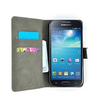 Samsung-galaxy-s4-mini-book-style-wallet-case-zwart