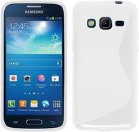 Samsung,galaxy,J3,hoesje,silicone,case,wit