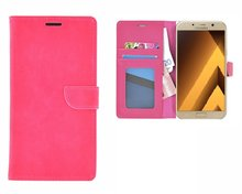 Samsung-Galaxy-A5-(2017)-smartphone-hoesje-wallet-book-style-case-roze