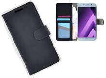 Samsung-Galaxy-A5-(2017)-smartphone-hoesje-wallet-book-style-case-zwart