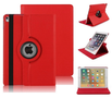 iPad-Air-2019-(105)-hoes-Pearlycase...-Kunstleder-Hoesje-360°-Draaibare-Book-Case-Bescherm-Cover-Rood