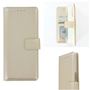 Pearlycase-Hoes-Wallet-Book-Case-Goud-voor-Sony-Xperia-5
