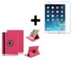 iPad-10.2-(2019)-Hoes-Pearlycase..-Kunstleder-Hoesje-360°-Draaibare-Book-Case-Bescherm-Cover-Hoes-Roze-+-Screenprotector-Tempered-Glass