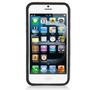 Apple-iPhone-5C-smartphone-hoesje-siliconen-bumper-transparant-zwart