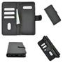 Samsung Galaxy S10 hoesje zwart bookcase 1
