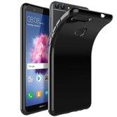 Zwart-Tpu-Siliconen-Backcover-Hoesje-voor-Huawei-P-smart